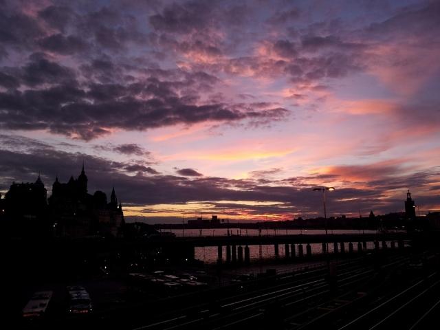 Södermalm al tramonto