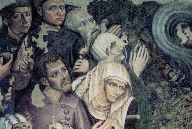 Autoritratto dei due artisti del Trionfo della Morte