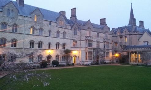 Pembroke College- Oxford- Tolkien