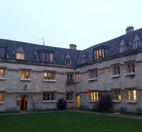 Office- Tolkien- Pembroke College- Oxford