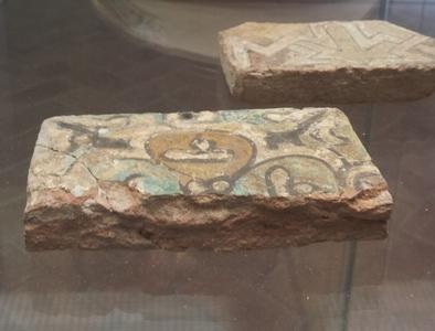 Decorazione-in-verde-manganese-museo-archeologico-Malaga