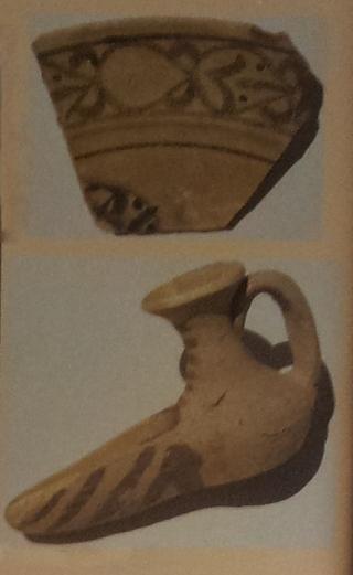 Decorazione-dipinta-manganese-su-terracotta-non-invetriata