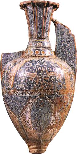 Vaso-con-gazzelle-Alhambra-Granada-sec.XIV.-lustro.