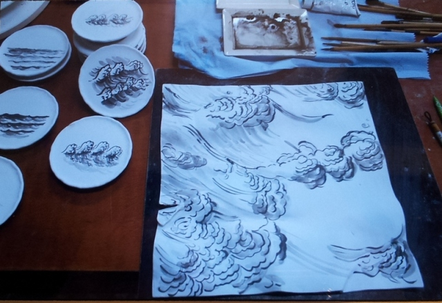 Huang-Zaiyun-景德镇-Delft-Museo-Het-Prinsenhof-La-Corte-del-Principe-